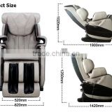 Black full body air pressure luxury massage chair