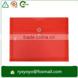 cheap factory price pp a4 size plastic envelope with string closure