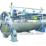 steam or water used single pot sterilizing retort canned food machine