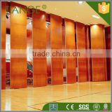 Church room divide movable soundproof partition wooden wall