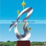 2016 New Modern Sculpture Stainless Steel Abstract Art Sculpture For Garden/Outdoor Made In China