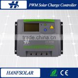 remote monitoring terminal 80A 12V 24V 48V Auto solar charge controller