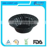 Accept custom order food use plastic soup bowl disposable pet material plastic salad bowl