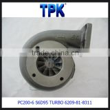PC200-6 PC210-6 PC230-6 PC220-6 PC200LC-6 Engine Parts S6D95-6 TURBOCHARGER 6209-81-8311