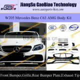 W205 C63 AMG body kit for mercedes W205 benz
