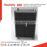 tablet Storage and Charging Cabinet trolley cart in school AHL-T3