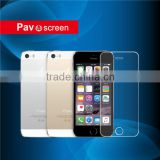 98% Transparent waterproof For mobile LCD tempered screen protector for iPhone 5 5c 5s wholesale 4g mobile phone accessories.