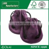 Finest exquisite gift handmade jewelry bags suede
