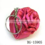 hot sale fashion red rose evening bags