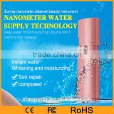 Portable Electronic Female Skin Care Sliding Nano Facial Steamer Sprayer Device for travel