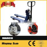 Hand jack pallet used Pallet Truck Scale Hydraulic Scale