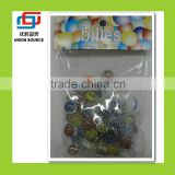 Decorative Colorful Petal Glass Marble For Toy (7001043)