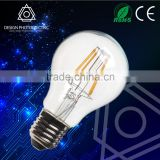 HOT sell! Edison style vintage cylinder light 360 degree chip glass A60 E27 led bulb filament