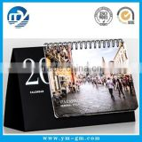 Wholesale cheap calendar printing by custom design table calendar printing