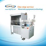 single position glove box Lithium battery Vacuum Glove Box with Gas Purification System and Digital Control