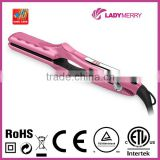 "1.4"" 35mm 450F 230C digital hair straightener professional infrared CE ROHS CTUVUS for OEM"