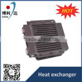 energy saving aluminum auto parts heat exchanger radiator for water cooling