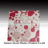 customized design plastic PP fashion placemat with offset printing