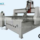 woodworking cnc router with rotary clamp