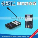 OBT-9808 PA system IP microphone for paging console use
