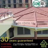 real HIGH QUALITY FACTORY ALUMINUM ZINC ALLOY STONE COATED METAL ROOFING TILES and VALLEY TRAY