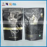Wholesale Aluminum foil food packaging for tea or coffee zipper bag pouch                                                                         Quality Choice