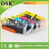 MG6860 Wholesale Edible cartridges for Canon PGI670 CLI671 Edible Compatible ink cartridge with ARC CHIP