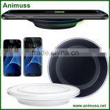 Best selling Wholesale black white External Battery wireless mobile Charger Plates Qi Wireless Charger