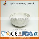 2014 New Arrive Hot Sale white ceramic soup bowl