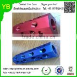Custom AL material anodized lathe parts from china supplier ISO9001 Passed
