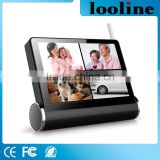 Looline Multi Touch Capacitive Screen NVR/DVR With 360 Horizontal Rotate Security Wireless Video Surveillance IP CCTV Camera Wif