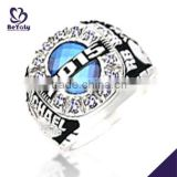 Blue enamel signet youth baseball championship rings                                                                                                         Supplier's Choice