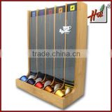 Bamboo Nespresso coffee capsule holder box HCGB50N                                                                         Quality Choice