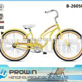 comfortable beach cruiser 26 wheel good quality bike from bicycle factory (B-26050)