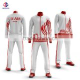 High quality top design track jacket, wholesale sports clothing