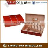 Manufacturers wooden display cigar cabinet humidor