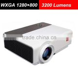 Factory Price Full HD LED Home Cinema WXGA 1280x800 3200 Lumens HDMI Support 1080P Smart Projector