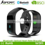 IOS and Android OLED Smart Bluetooth Waterproof Activity Tracker with Vibration SMS Call