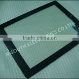 Wholesale Black Touch Screen Glass Digitizer Replacement Home Button + Adhesive for iPad 2
