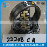 High performance roller bearing 22208CA/ W33 spherical roller bearing,Gcr15steel bearing