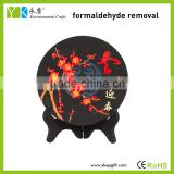 Wholesale air purification products high quality home decor and business gift wooden arts crafts