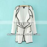 wholesale korean ladies' Dust coat autumn custom american clothing China manufacturer China apparel