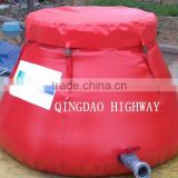 PVC Flexible Onion shape water bladder/tank