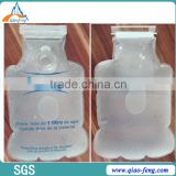 clear plastic toilet tank bank water tank bank