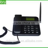 Wholesale price Quad band sim card gsm cordless phone with removable TNC antenna FM radio battery 850/900/1800/1900Mhz