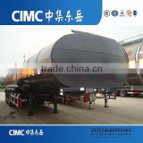 CIMC 3x13T Fuwa Axles Stainless Steel Oil Tank Trailer/Fuel Tanker Semi Trailer