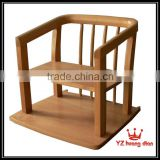 wood baby dining chair nature taype