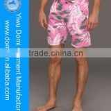 Summer hot selling polyester pink teen boy shorts,men short pants, xxx china photos
