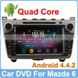 Ownice New Quad Core Android 4.4.2 For mazda 6 dvd player with gps navi Cortex A9 1.6GHz HD 1024*600
