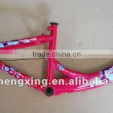 Girl/Red color/Nice design/BMX bike frame